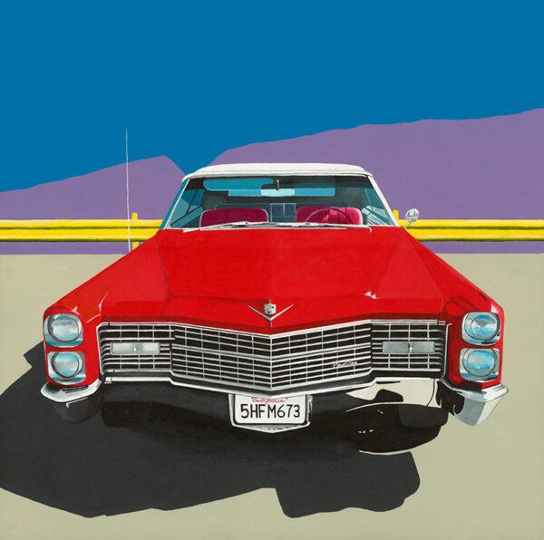 Americana Red Cadillac