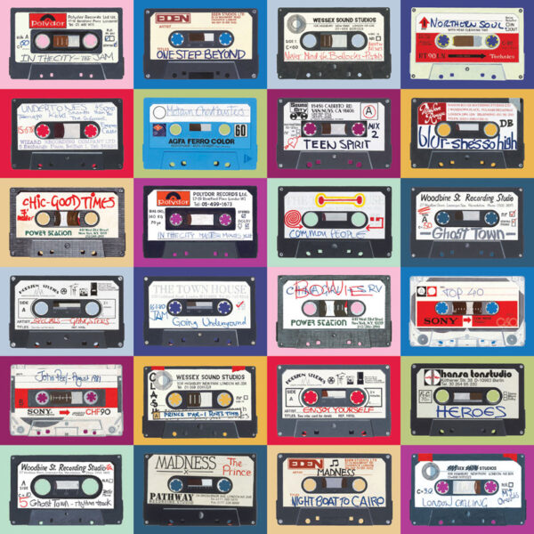 multicassette technicolour