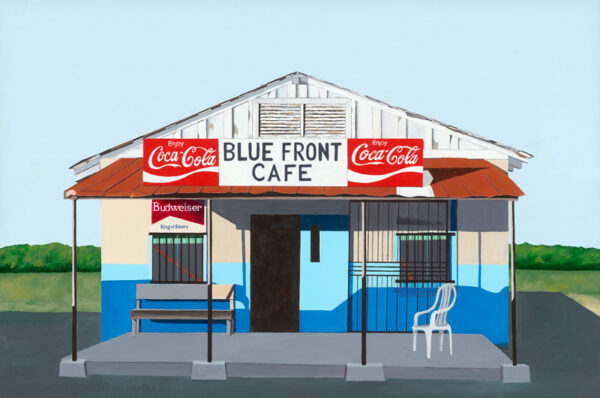 Americana Blue Front Cafe