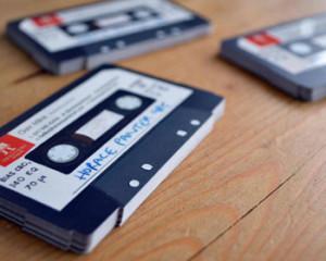 cassette business cards