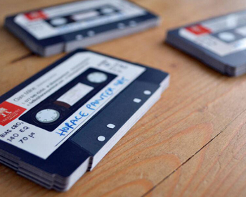 cassette business cards