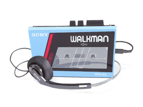 Sony Walkman Blue