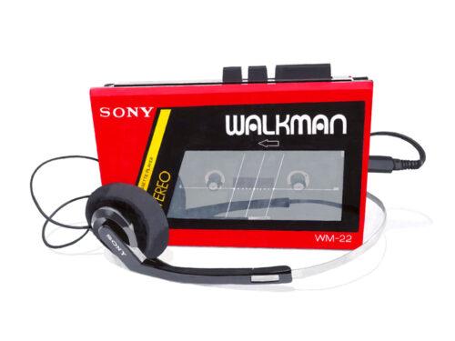 Sony Walkman Red